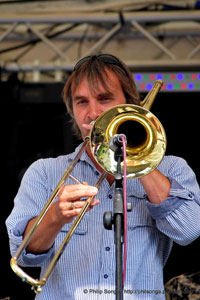 simon Pugsley,Tromboneles